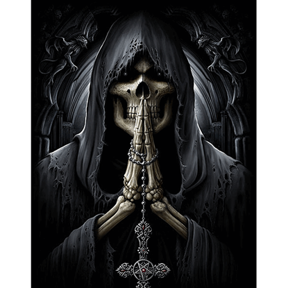 Death Prayer Flag