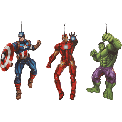 Avengers Characters Decorations