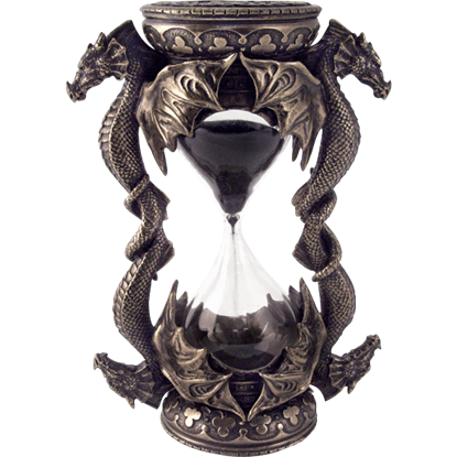 Encapsulated By Dragons Sand Timer