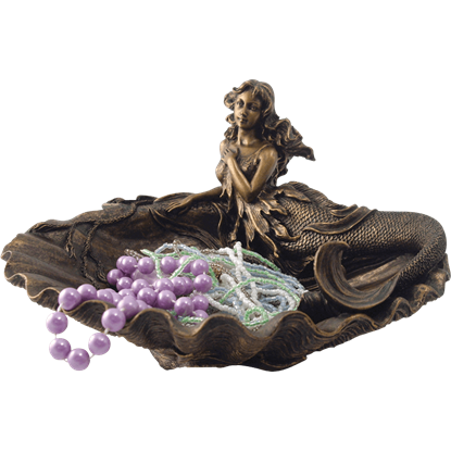 Mermaid and Clam Shell Dish