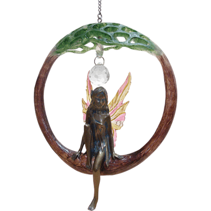 Hanging Fairy Dreamcatcher