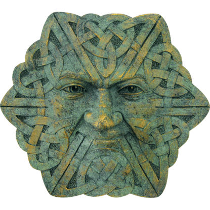 Celtic Deity Wall Plaque