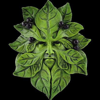 Blueberry Greenman Plaque