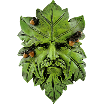 Acorn Greenman Plaque