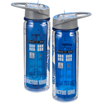 Doctor Who TARDIS Tritan Water Bottle
