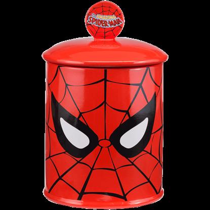 Spider-Man Ceramic Cookie Jar