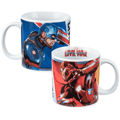 Captain America Civil War Ceramic Mug