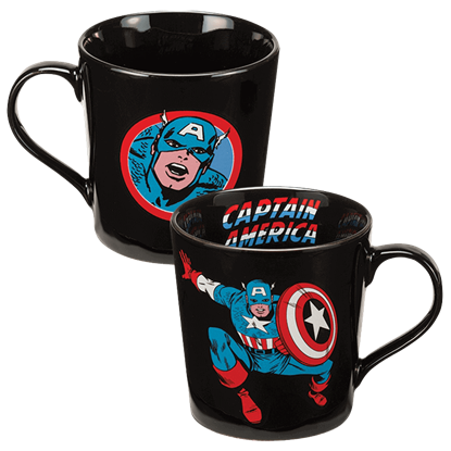 Captain America Ceramic Mug