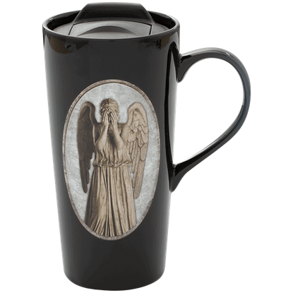 Doctor Who Weeping Angel Heat Reactive Travel Mug