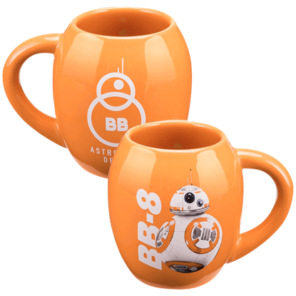 Force Awakens BB-8 Oval Ceramic Mug