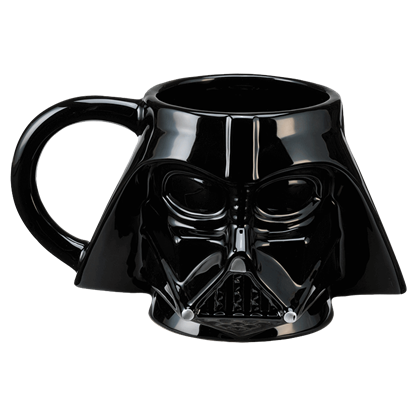 Sculpted Darth Vader Mug