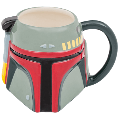 Star Wars Boba Fett Ceramic Sculpted Mug