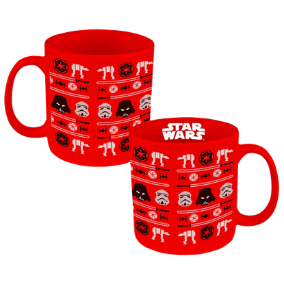 Large Star Wars Ugly Sweater Mug