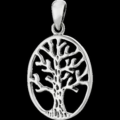 Sterling Silver Winter Tree Pendant