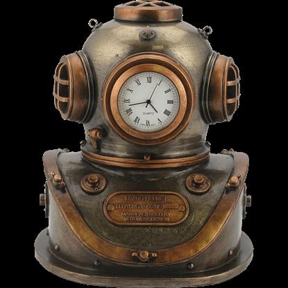 Diving Bell Steampunk Clock
