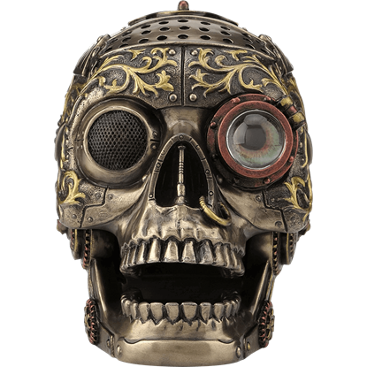 Articulated Steampunk Skull