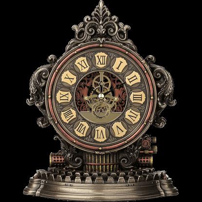Classic Steampunk Mantle Clock