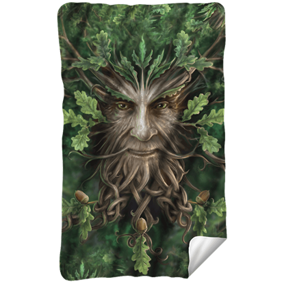 Anne Stokes Oak King Fleece Blanket
