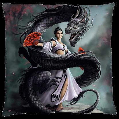 Large Anne Stokes Dragon Dancer Pillow