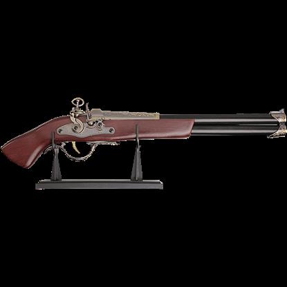 Long Barrel Flintlock Pistol
