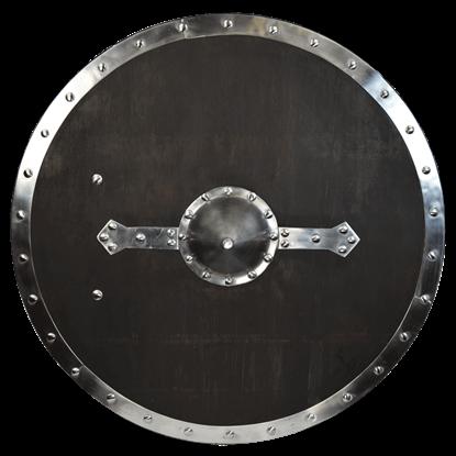 Round Wooden Viking Shield