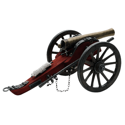 Civil War Confederate Cannon Miniature Replica