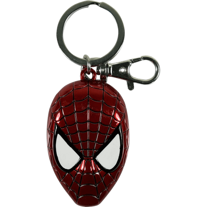 Colored Spider-Man Mask Keychain