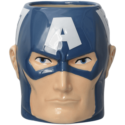 Captain America 3D Ceramic Mug