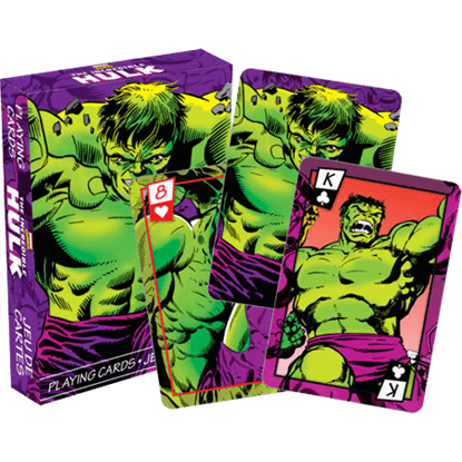 The Incredible Hulk Playing Cards