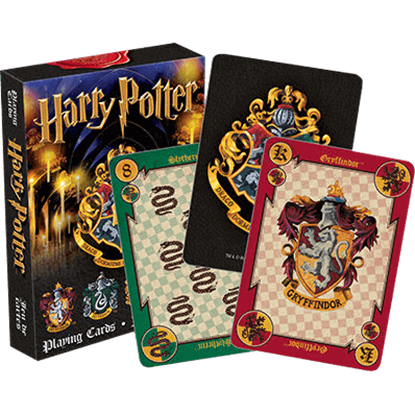 Harry Potter House Crest Playing Cards