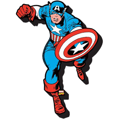 Captain America Hero Magnet