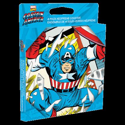 Captain America Coaster Set