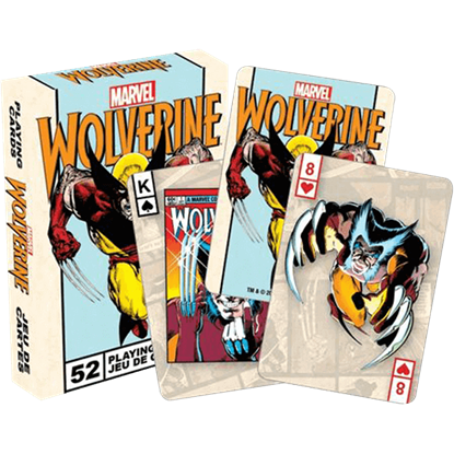 Marvel Wolverine Playing Cards