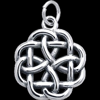 Silver Knotwork Charm