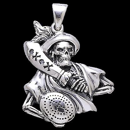 Pirate Skull Pendant