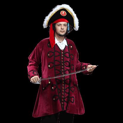 Blackbeard Pirate Coat