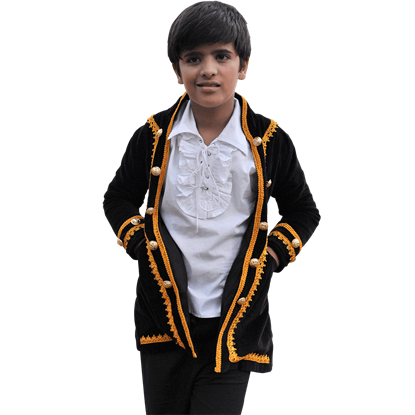 Kids Captain Jack Pirate Coat