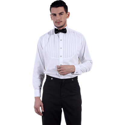 Formal White Victorian Shirt