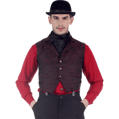 Brocade Clockwork Vest