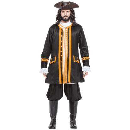 Black Admiral Norrington Coat