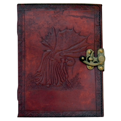 Embossed 6x8 Fate Fairy Journal with Lock