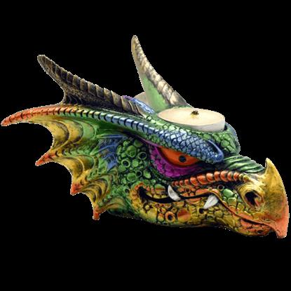 Dragon Head Candle Holder
