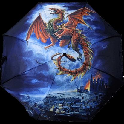 Whitby Wyrm Dragon Umbrella