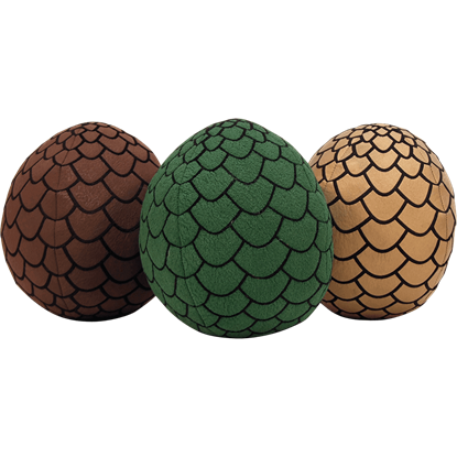 Game of Thrones Dragon Egg Plush Set