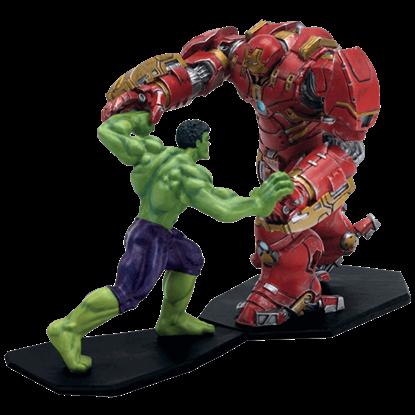 Hulk vs Hulkbuster Age of Ultron Metal Miniature Set