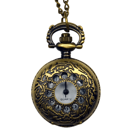 Miniature Window Pane Pocket Watch