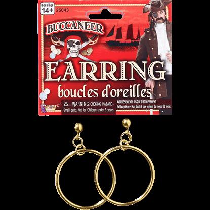 Pirate Hoop Earrings