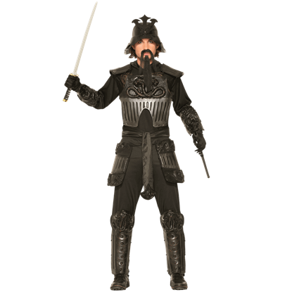 Armored Samurai Men's Costume