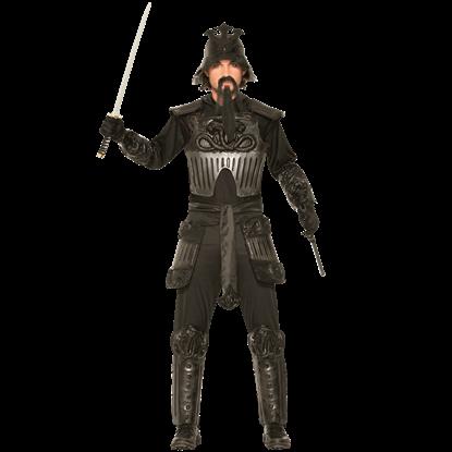 Armored Samurai Men's Costume