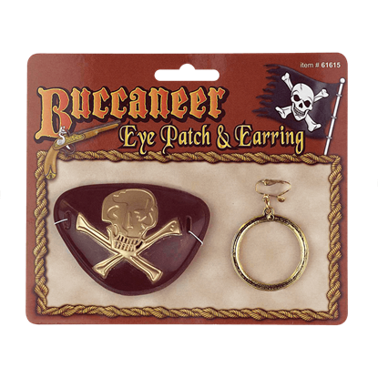Buccaneer Eye Patch and Earring